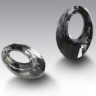 Swarovski kristályos ékszerszett - Helios 20 mm, Silver Night + díszdoboz