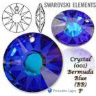 Swarovski kristályos ékszerszett - Sun 18 mm, Bermuda Blue + díszdoboz