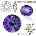 Swarovski kristályos ékszerszett - Sun 18 mm, Heliotrop + díszdoboz