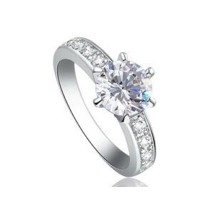 1,25 karátos szintetikus gyémánt köves gyűrű-5