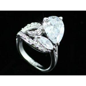 3,5 karátos Swarovski kristályos gyűrű-6