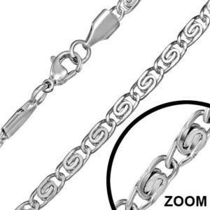 3mm-es  nemesacél nyaklánc ékszer