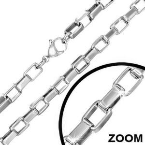 7mm-es  nemesacél nyaklánc ékszer