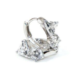 Axis Swarovski kristályos fülbevaló - Áttetsző