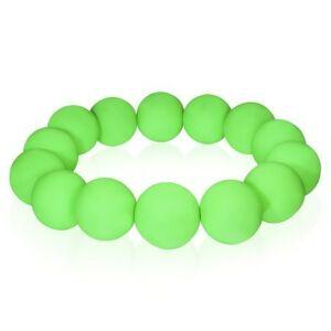 Divatos zöld gyöngyös bizsu karkötő