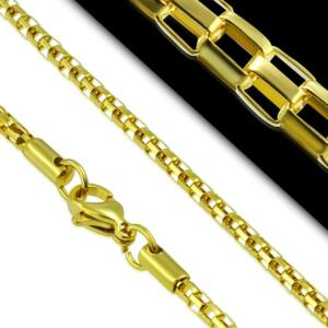 Elegánsan vékony aranyszínű nyaklánc