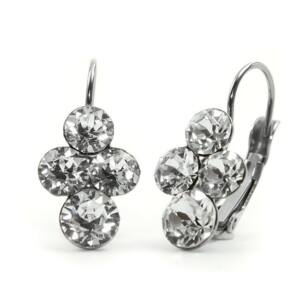 Fürt Swarovski® kristályos nemesacél fülbevaló - Crystal