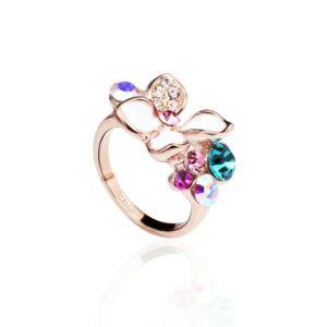Italina 18K aranyozott gyűrű 842