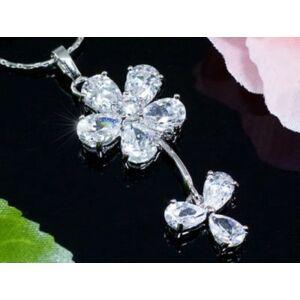 Swarovski kristályos nyaklánc és fülbevaló-187