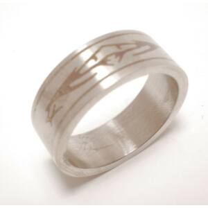 USA: 8-10-13 méretű nemesacél gyűrű ékszer