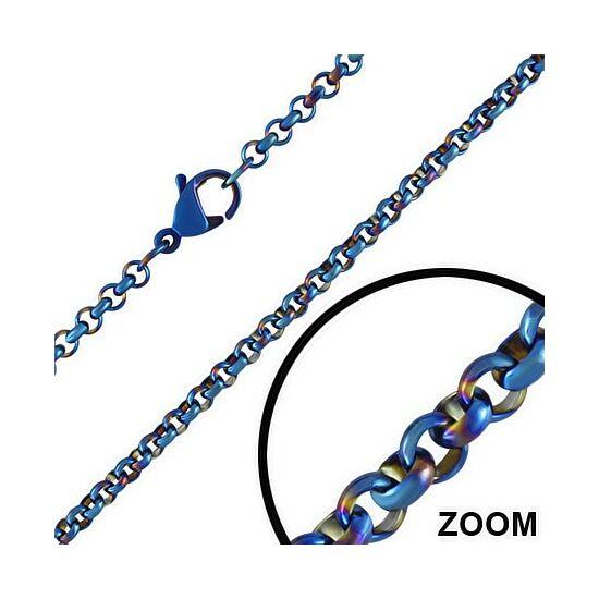 1mm-es nemesacél nyaklánc ékszer