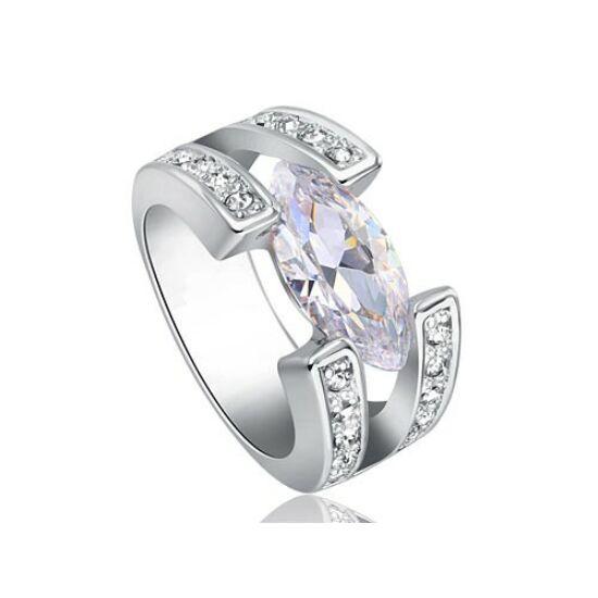 3 karátos szintetikus gyémánt gyűrű 198-6
