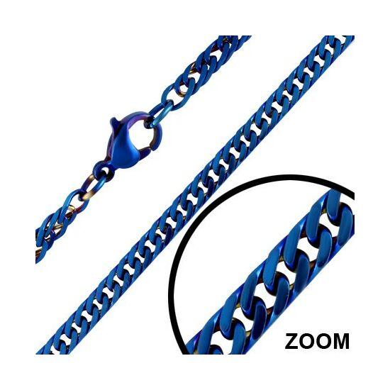 3 mm-es nemesacél nyaklánc ékszer