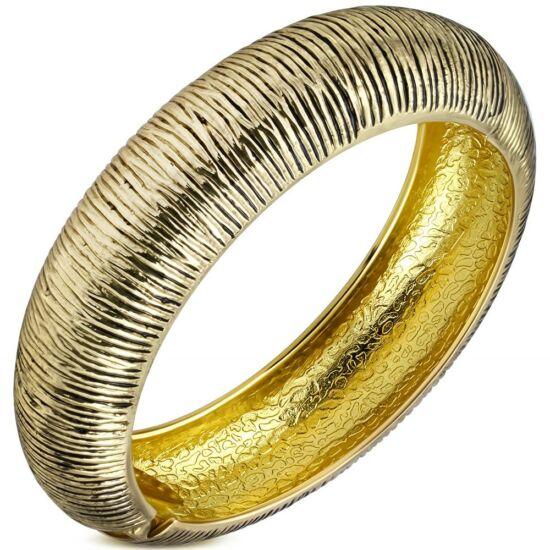 Arany színű divat karkötő