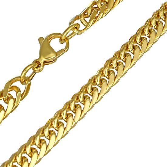 Arany színű nemesacél nyaklánc ékszer