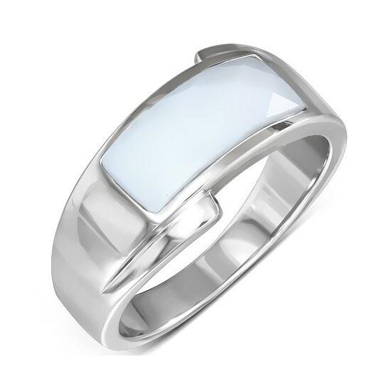 Emily ezüst színű nemesacél gyűrű ékszer