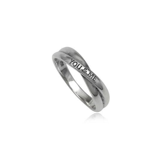 Feliratos ezüst gyűrű-9