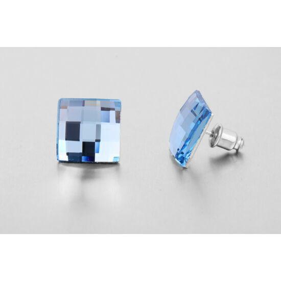 Jazzy Swarovski kristályos fülbevaló - Mozaik Kék