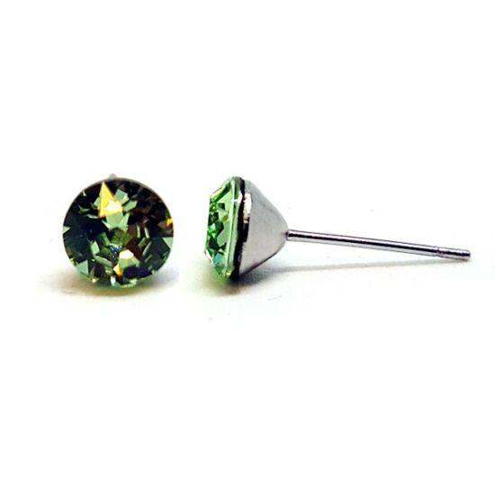 Jazzy Swarovski® kristályos fülbevaló - Chrysolite