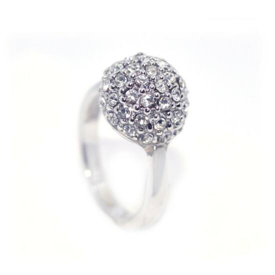 Mesterséges gyémánt köves gyűrű-6