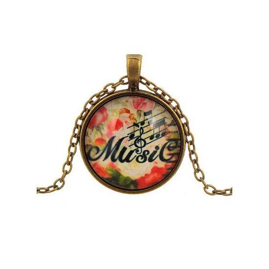 MUSIC - Divatos bizsu nyaklánc