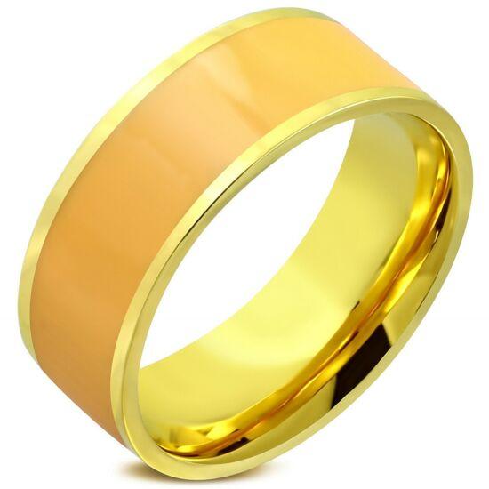 Steeel színes nemesacél gyűrű ékszer
