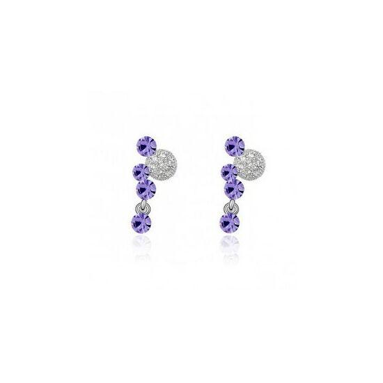 Swarovski kristályos fülbevaló 828