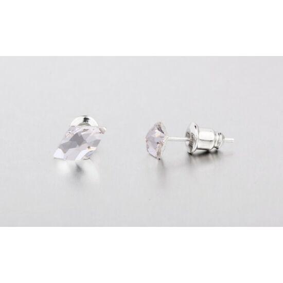 Swarovski kristályos fülbevaló - Rombusz Crystal