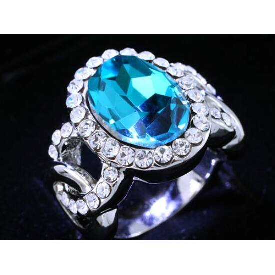 Swarovski kristályos gyűrű 158