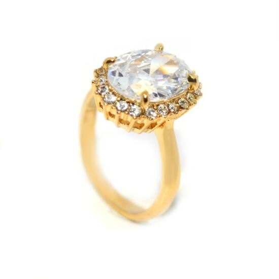 Swarovski kristályos gyűrű 166-6