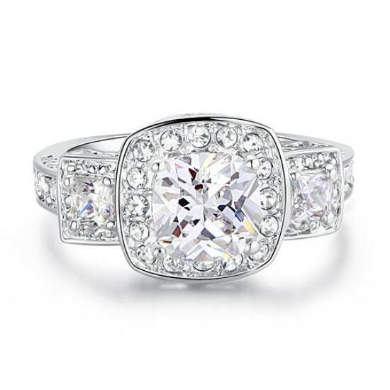 Swarovski kristályos gyűrű 204