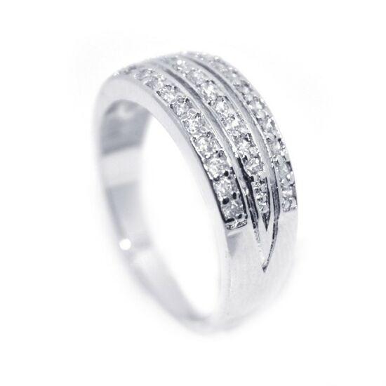 Swarovski kristályos gyűrű-6
