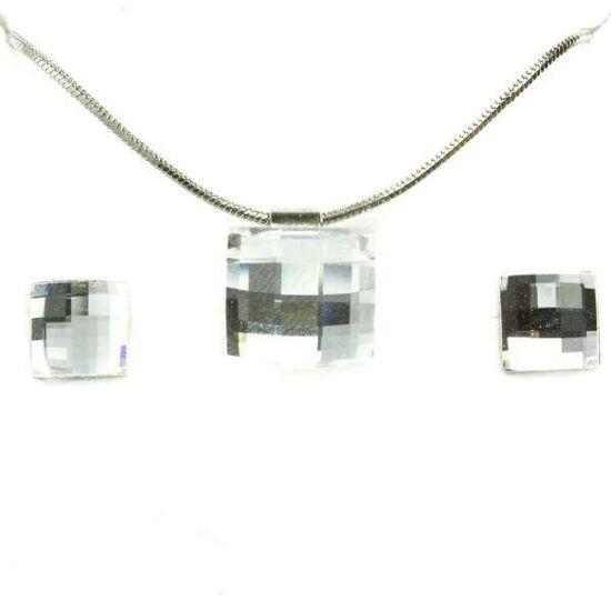 Swarovski kristályos szett - Mozaik 12 mm, Crystal + díszdoboz