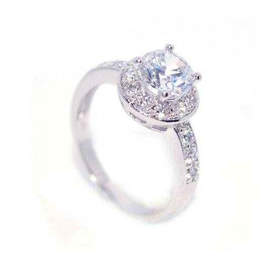 Szintetikus gyémánt gyűrű 125
