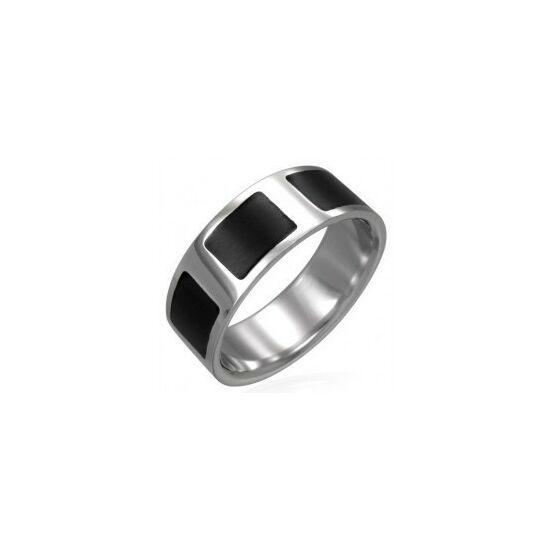 USA : 10 méretű nemesacél gyűrű ékszer
