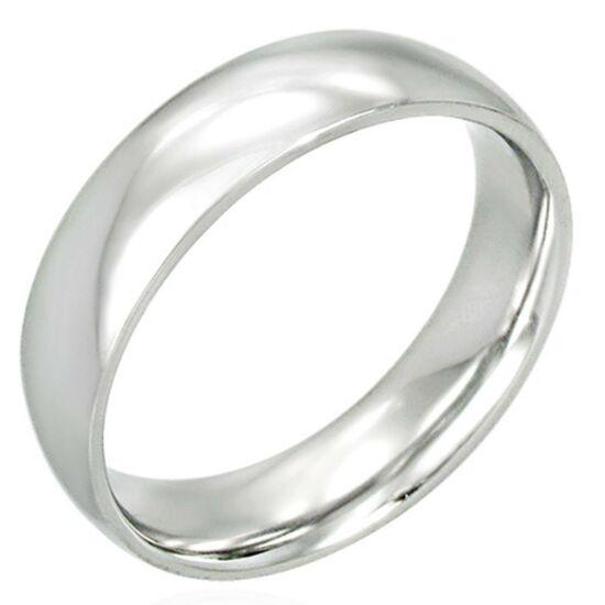 USA: 12 méretű nemesacél gyűrű ékszer