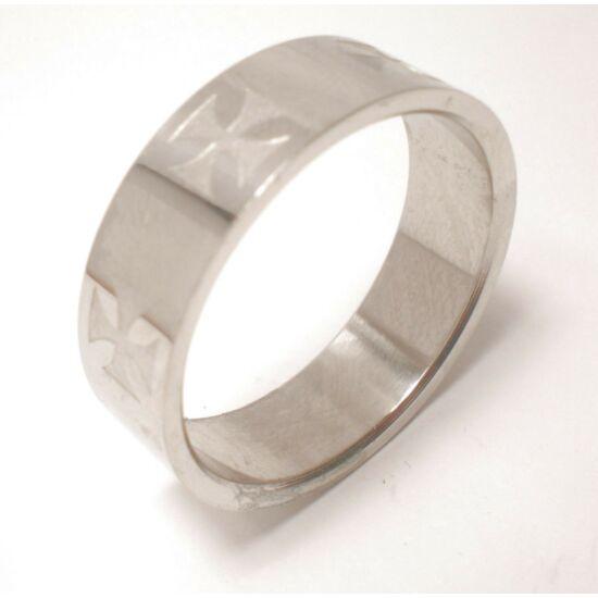 USA:14-15 méretű nemesacél gyűrű ékszer