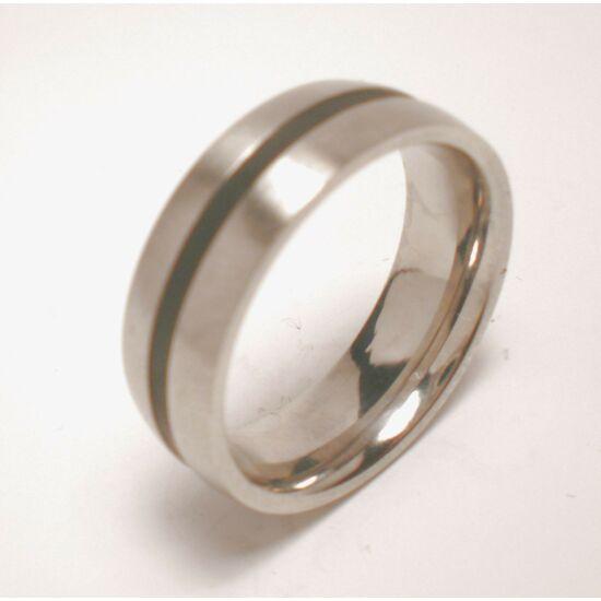 USA : 6 méretű nemesacél gyűrű ékszer