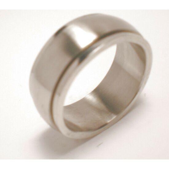 USA : 7 méretű nemesacél gyűrű ékszer