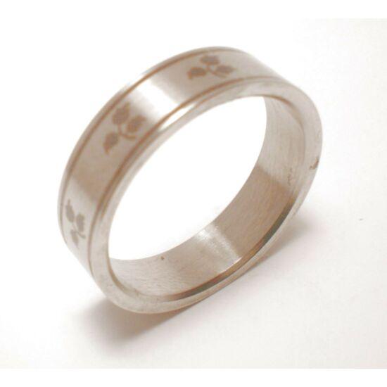 USA : 8-10.5 méretű nemesacél gyűrű ékszer