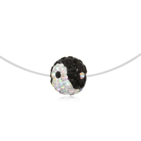 Yin yang ezüst nyaklánc - 925 ezüst ékszer