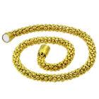 Arany színű Steeel nemesacél nyaklánc ékszer