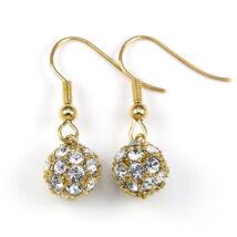 Berry Swarovski kristályos fülbevaló - Arany színű