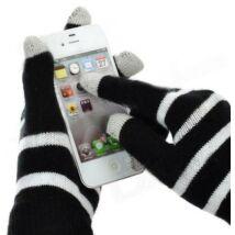 Elegáns okostelefon kesztyű, bármilyen érintőkijelzőhöz