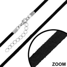 Fekete színű nyaklánc medálokhoz