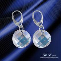 H. L. Jewel Swarovski® kristályos ezüst fülbevaló - Moonlight Crystal