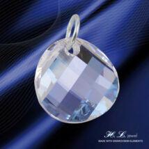 H. L. Jewel Swarovski® kristályos ezüst medál - Moonlight Crystal