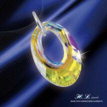H. L. Jewel Swarovski® kristályos medál - Árnyék Crystal AB