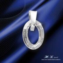 H. L. Jewel Swarovski® kristályos medál - Ovális Crystal