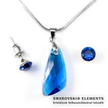"""Swarovski® kristályos szett """"Sagittarius"""" - Szárny 23 mm, Capri Blue + díszdoboz"""